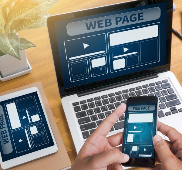 ホームページ制作の過程