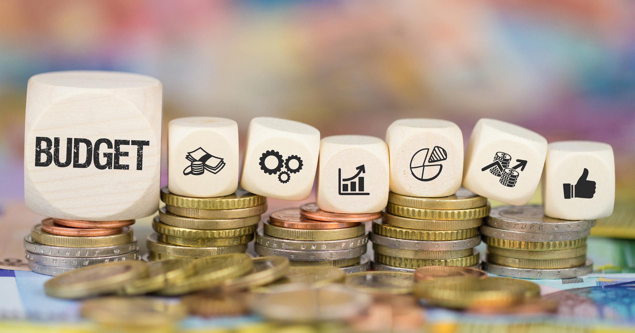 リスティング広告の予算イメージ