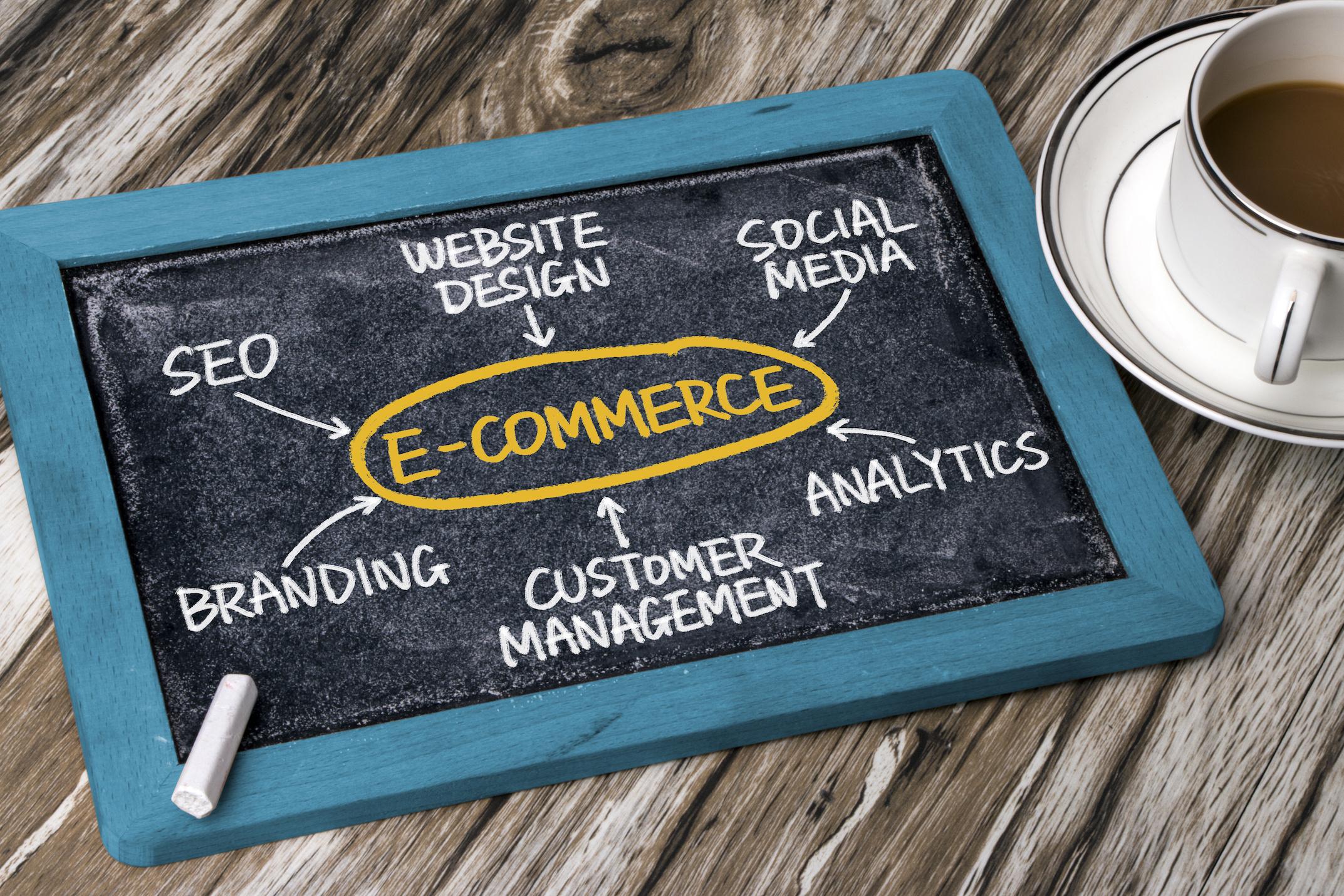 ECサイトのマーケティングイメージ