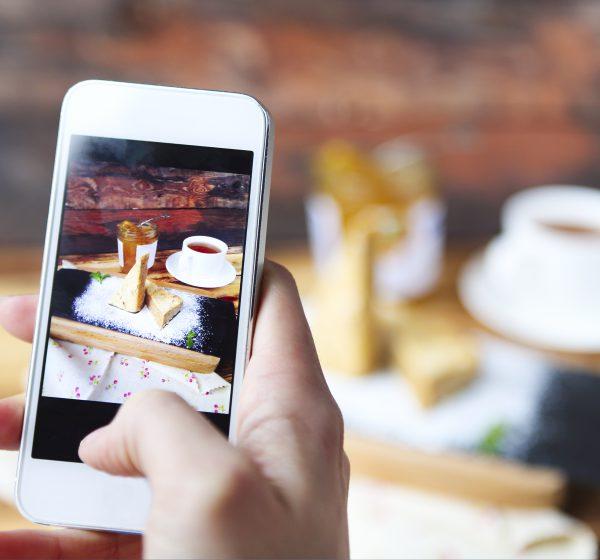 インスタグラム動画広告用の動画を撮影