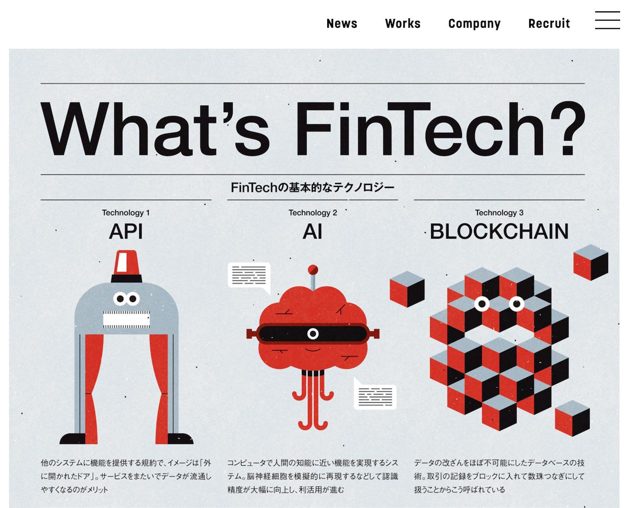 What's FinTech?_インフォグラフィックス