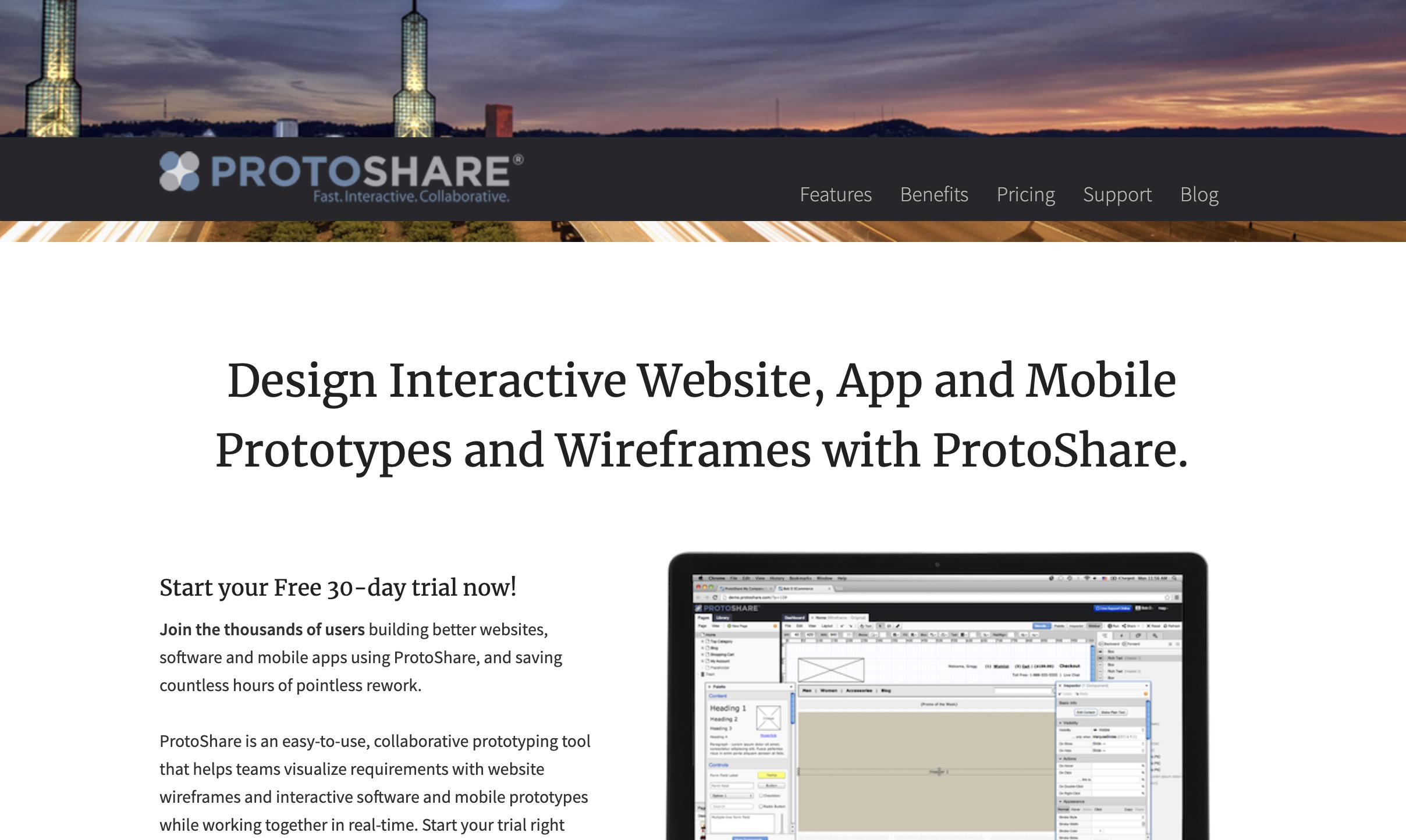 ProtoShare_ワイヤーフレーム