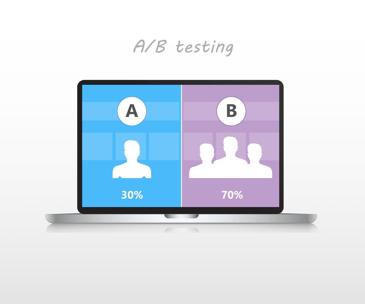 インターネット上のABテスト