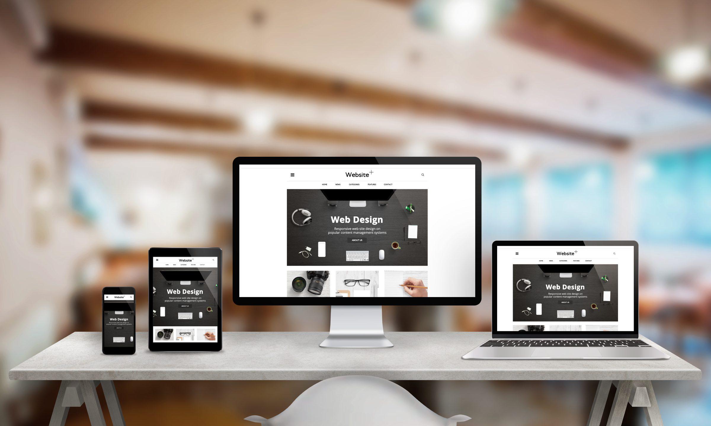 様々なデバイスに対応したwebデザイン