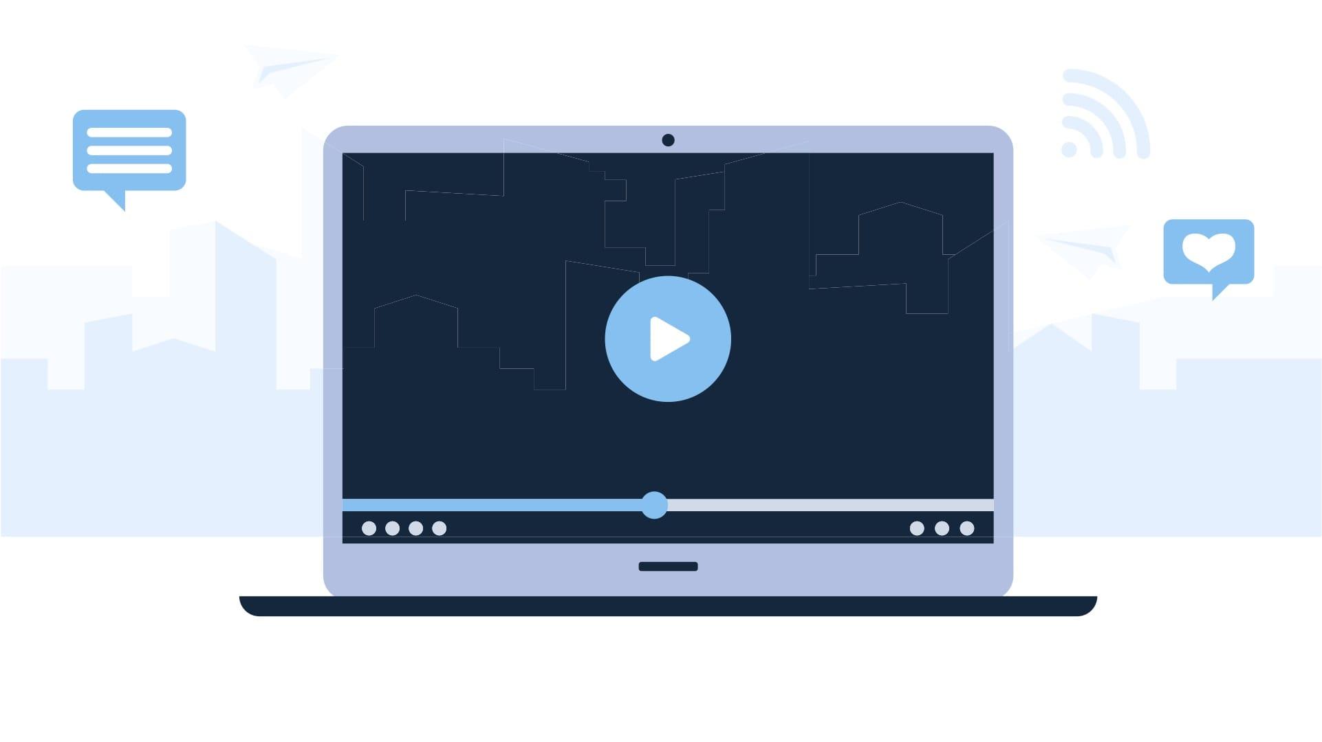 動画を再生するPC