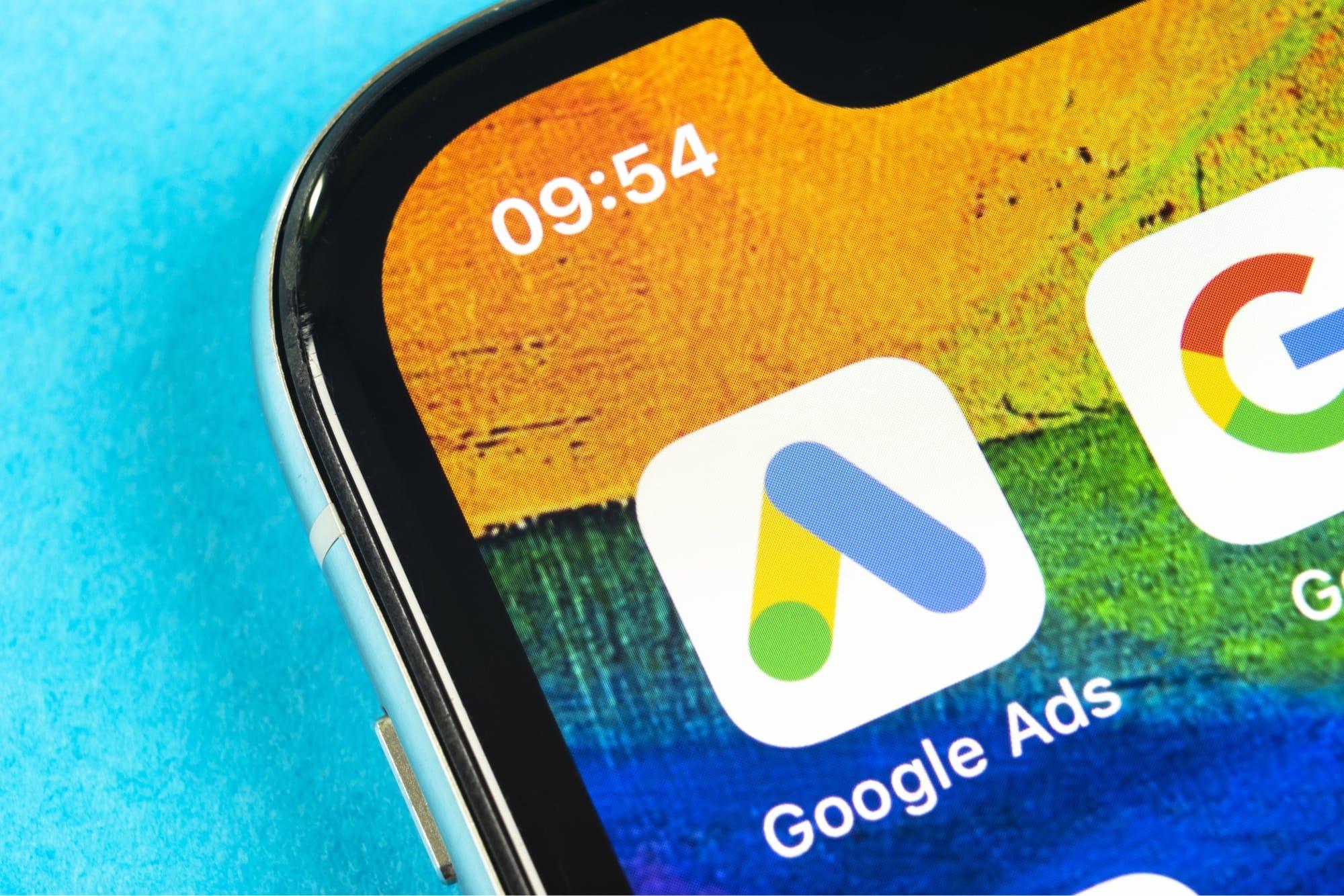Google広告のアプリ