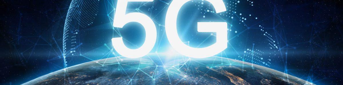 5Gの幻想的なイメージ