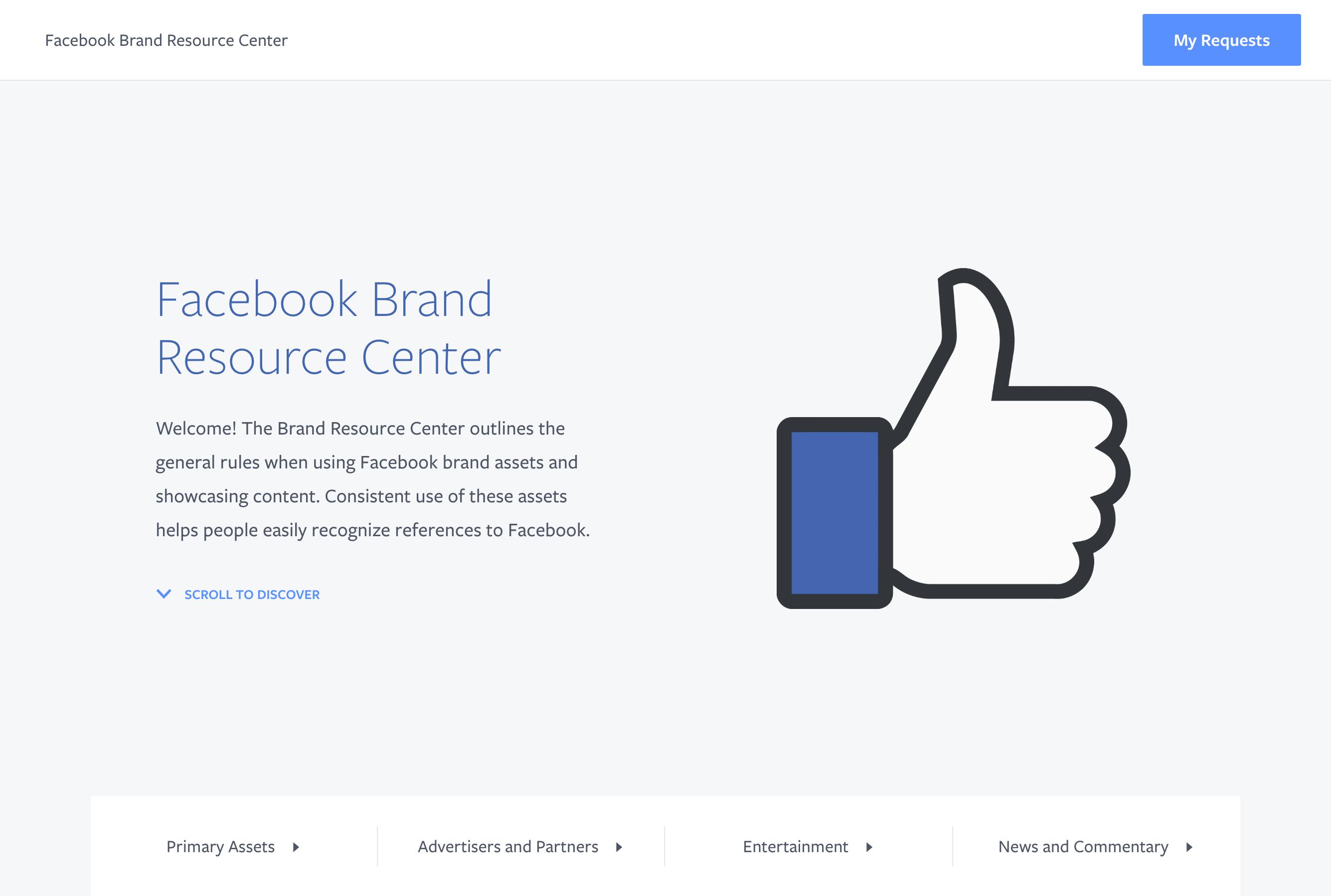 Facebook Brand Resource