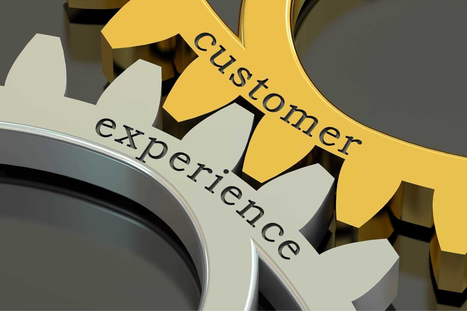 Customer Experienceと書かれた部品