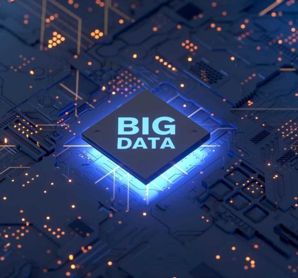 BIG DATAの3Dイメージ