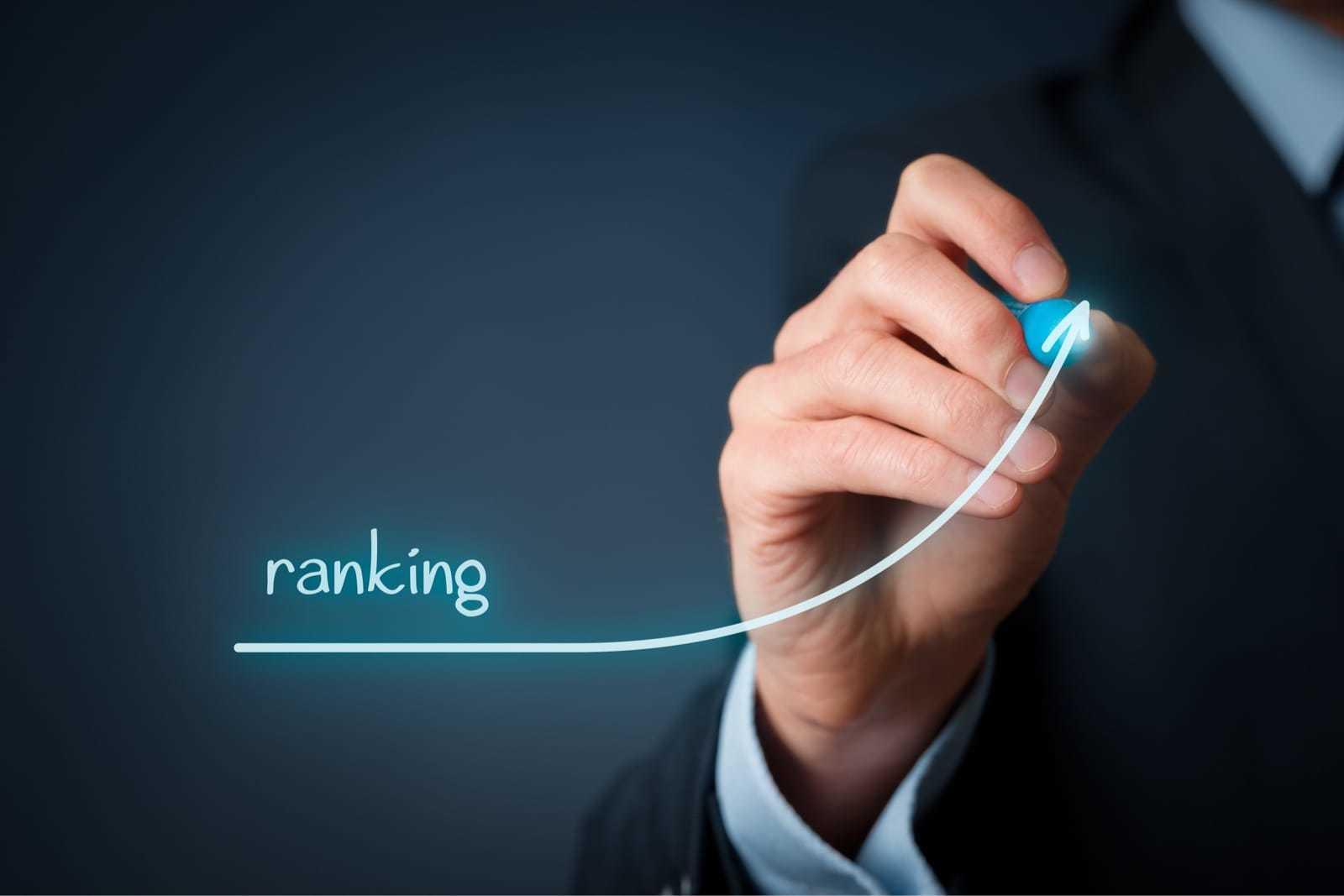 rankingが上昇するイメージ