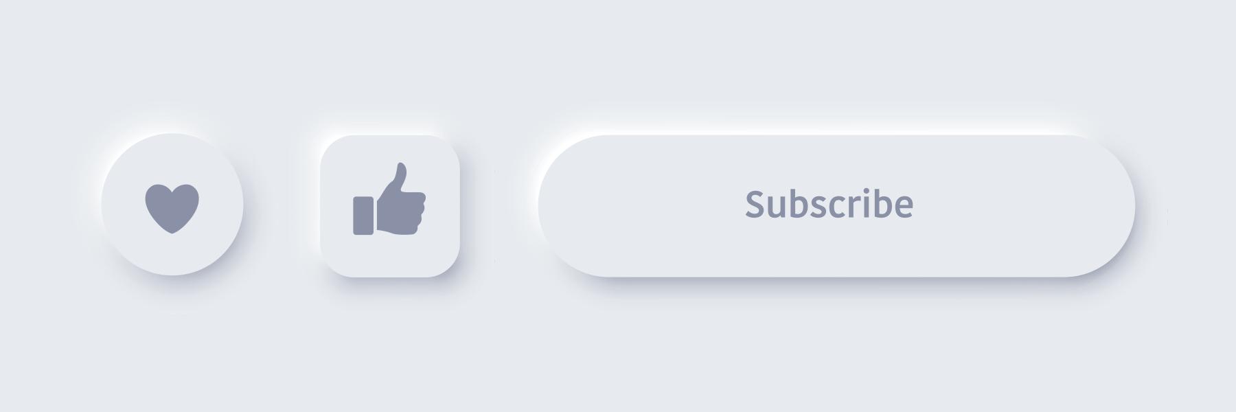 アイコンやテキストのボタンイメージ