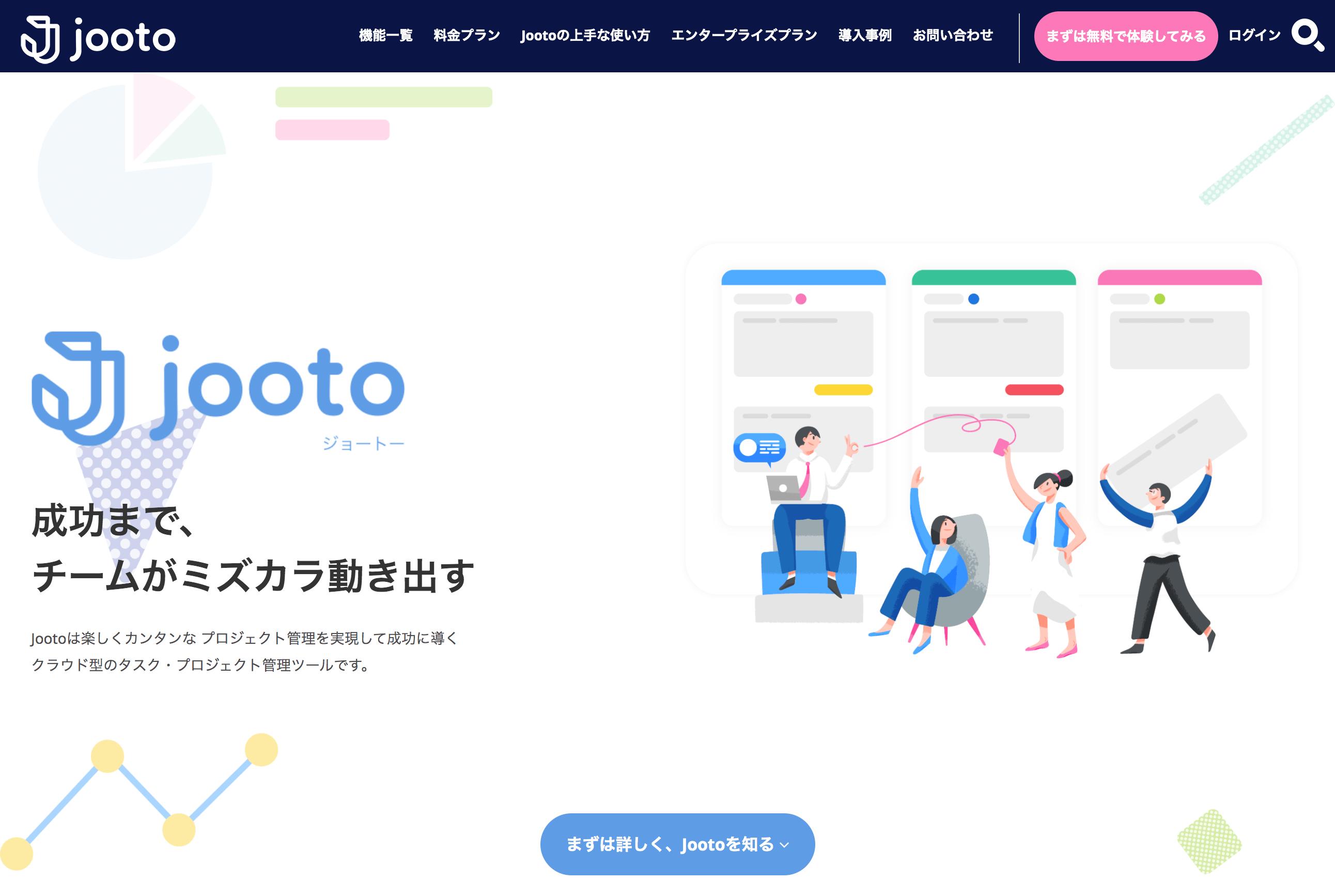 Jooto スクリーンショット