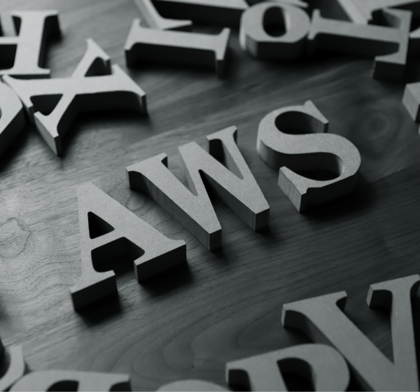 AWSのアルファベット文字