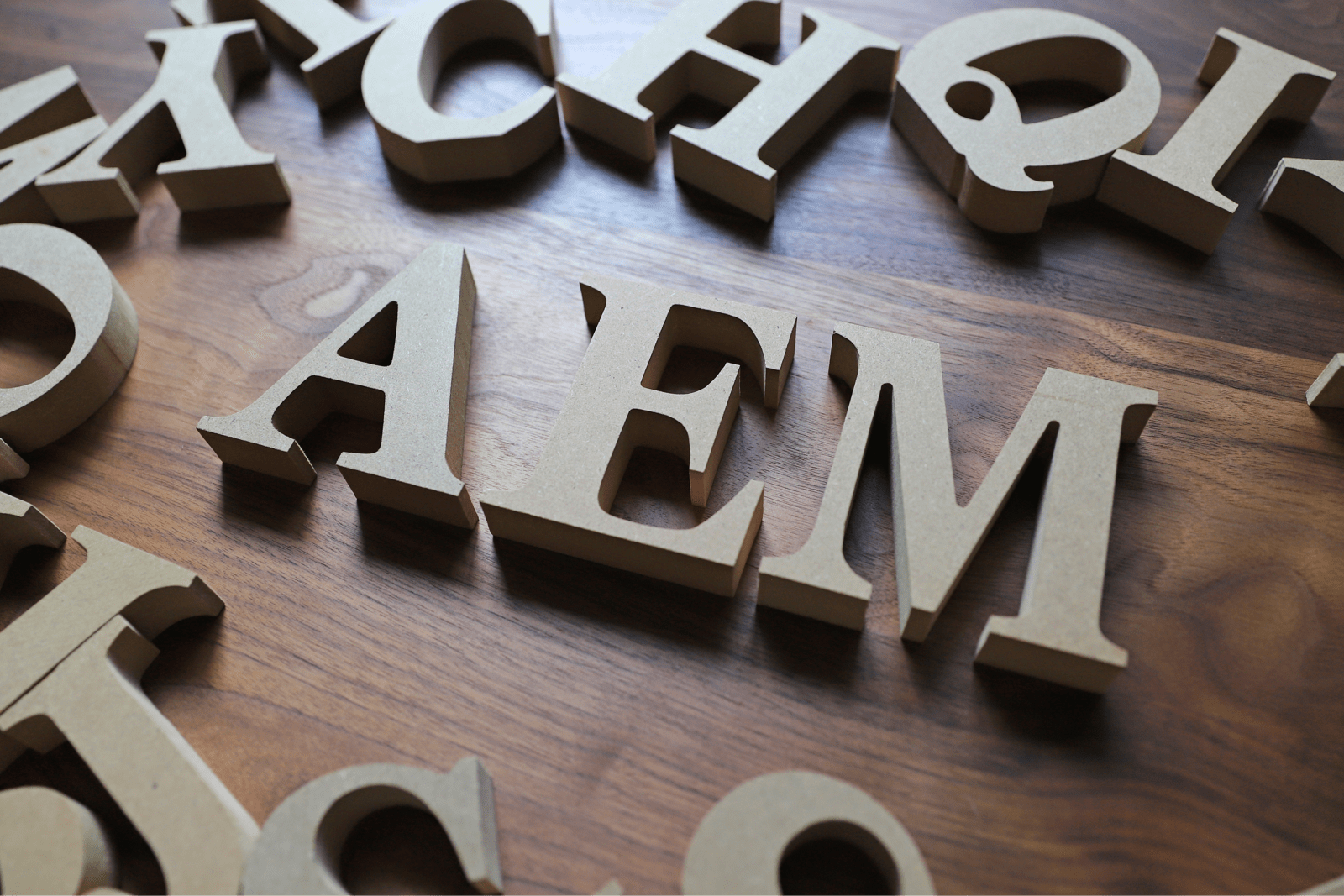 AEMの単語